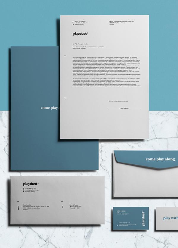 playdust设计公司logo设计与VI设计-上海VI设计公司