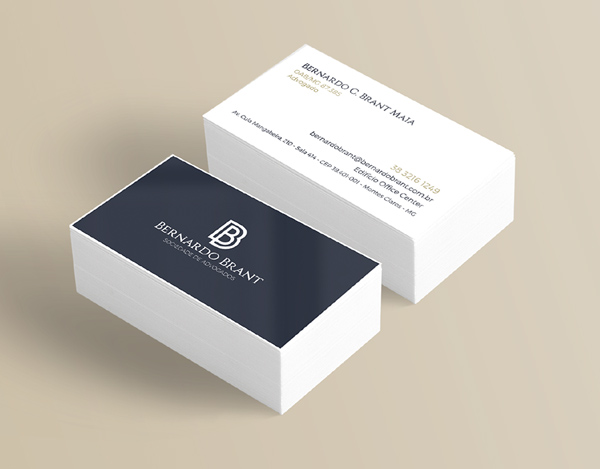 BRANT 律师事务所logo设计与视觉识别VI设计-名片设计