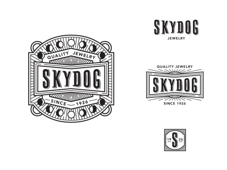 珠宝logo-30个图案漂亮而复杂的LOGO设计作品欣赏—上海logo设计公司