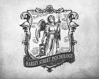 哈雷街心理学logo-30个图案漂亮而复杂的LOGO设计作品欣赏—上海logo设计公司