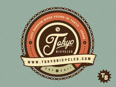 东京自行车logo-30个图案漂亮而复杂的LOGO设计作品欣赏—上海logo设计公司