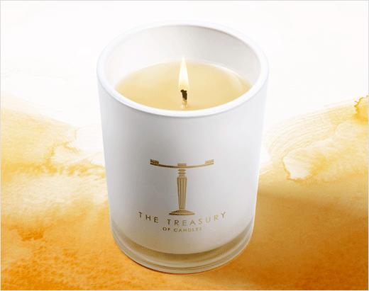 新西兰高端奢侈蜡烛T字母logo设计包装设计与奢侈品高端品牌形象设计-上海品牌设计公司