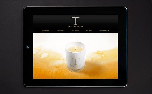 新西兰高端奢侈蜡烛品牌网站设计上海品牌设计公司