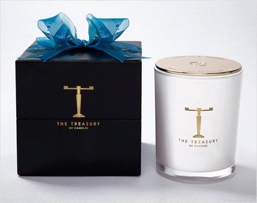 新西兰高端奢侈蜡烛品牌T字母logo设计包装设计与奢侈品高端品牌形象设计-上海品牌设计公司