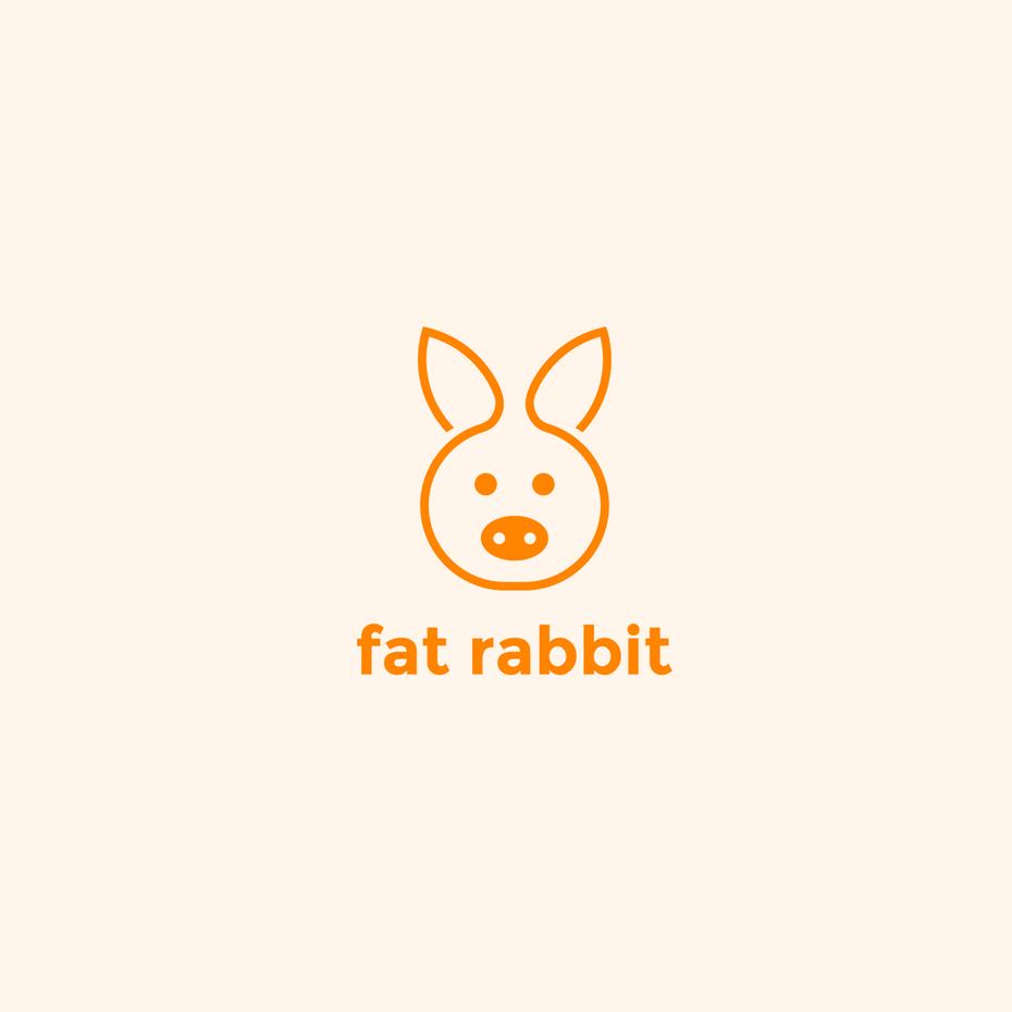 有趣好玩的橙色吉祥物logo-充满活力和激情的创意橙色logo设计欣赏-上海logo设计公司