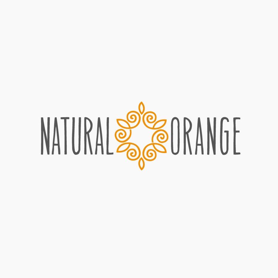 优雅轻灵的橙色logo--充满活力和激情的创意橙色logo设计欣赏-上海logo设计公司