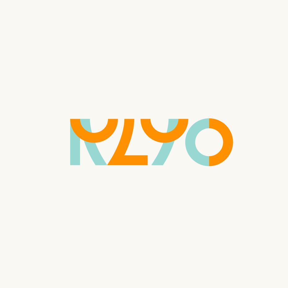 艺术、简约和几何图形式的橙色logo设计-充满活力和激情的创意橙色logo设计欣赏-上海logo设计公司