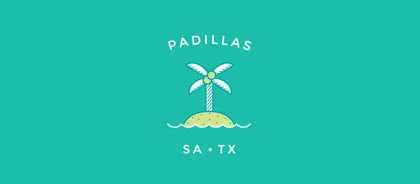帕蒂亚斯岛棕榈树汉堡清新风格logo-上海logo设计公司-上海品牌设计公司