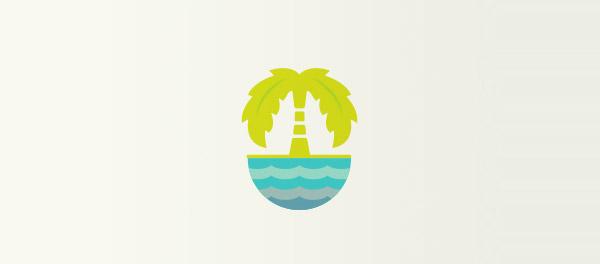 棕榈树logo-上海logo设计公司-上海品牌设计公司