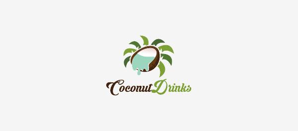 椰子饮料棕榈树logo-上海logo设计公司-上海品牌设计公司