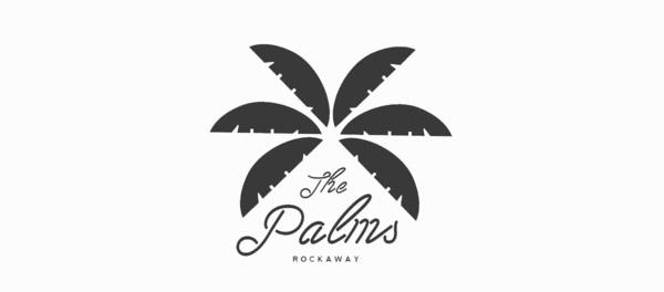 洛克威棕榈树logo-上海logo设计公司-上海品牌设计公司