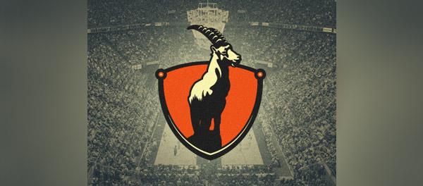 盾牌山羊标志设计-上海标志设计公司