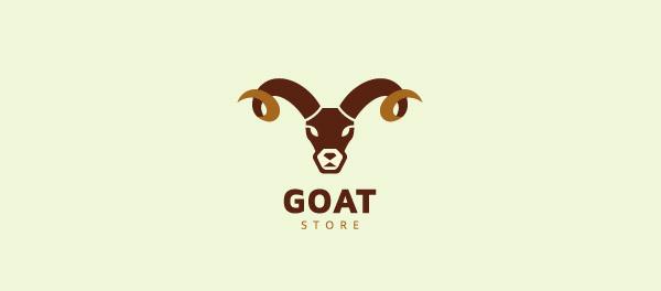 山羊羊角标志设计-上海标志设计公司