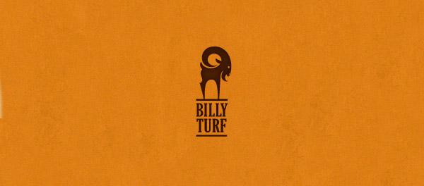 比利草坪山羊标志设计-上海标志设计公司
