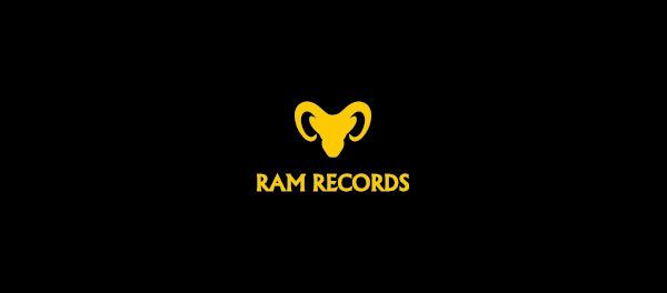 拉姆记录山羊标志设计-上海标志设计公司