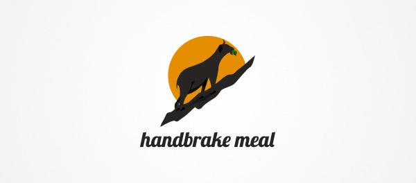 上山的山羊标志设计-上海标志设计公司