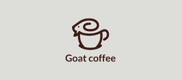 山羊咖啡标志设计-上海标志设计公司