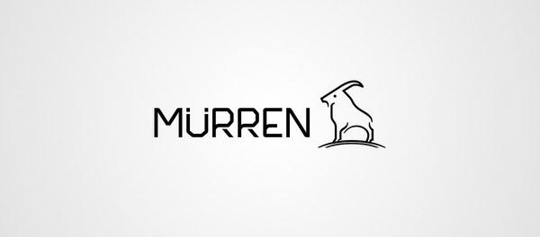 穆伦山羊标志设计-上海标志设计公司