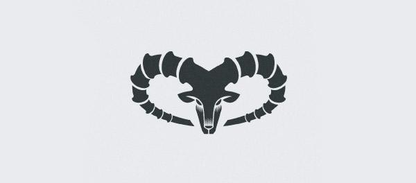 Ibex2山羊羊角标志设计-上海标志设计公司
