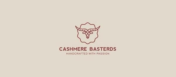 Basterds绵羊羊绒标志设计-上海标志设计公司