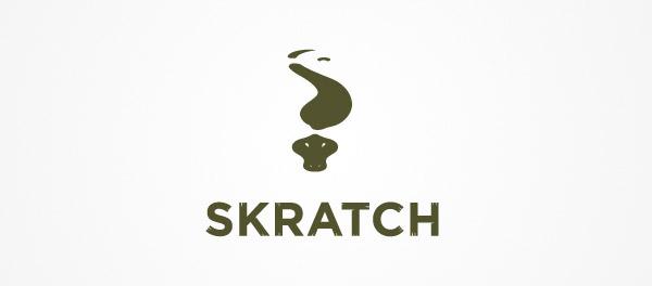 Skratch鳄鱼标志设计-上海标志设计公司