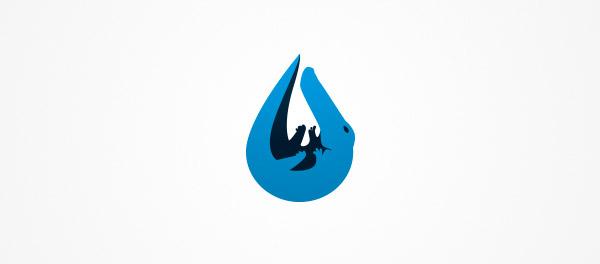 鳄鱼眼泪标志设计-上海标志设计公司
