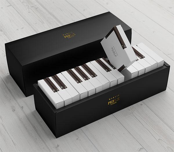 38.钢琴蛋糕创意包装设计2017-上海包装设计公司