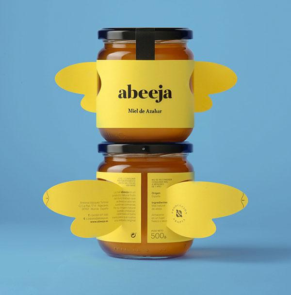 Abeeja创意蜂蜜包装设计-上海包装设计公司