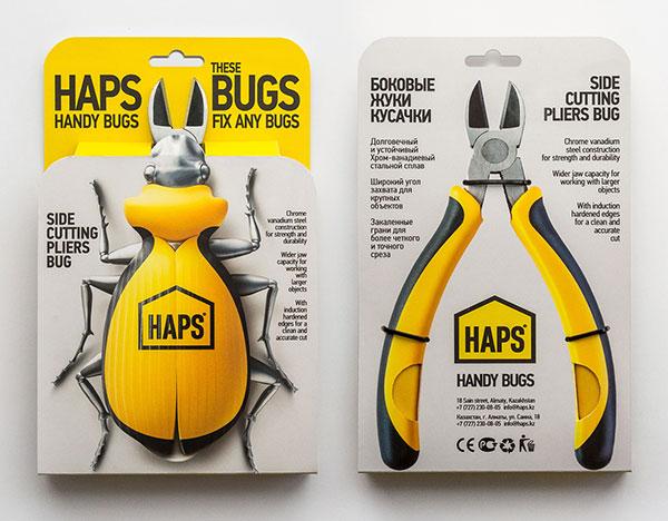 Handy Bugs钳子包装-上海包装设计公司