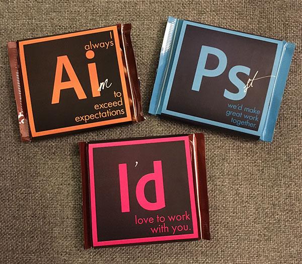 Adobe Suite巧克力棒-上海包装设计公司