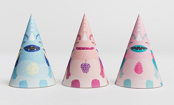 Monstea - 儿童茶包装-上海包装设计公司