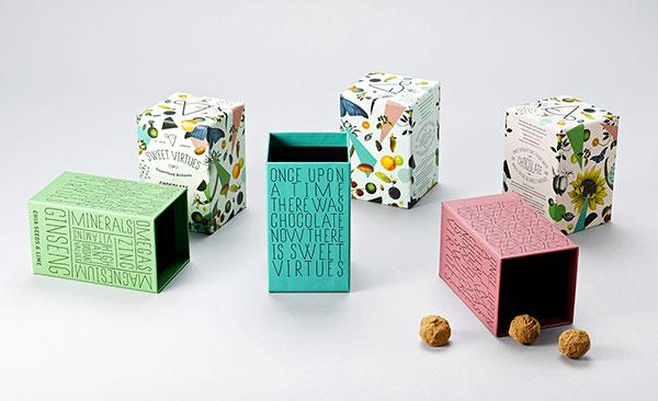 甜美巧克力包装设计-上海包装设计公司