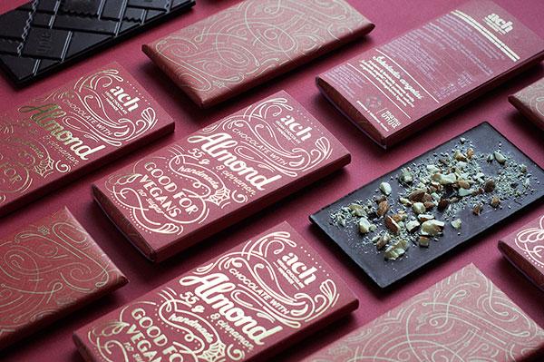 Ach素食巧克力包装设计2017年-上海包装设计公司