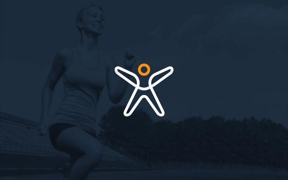 30个构思巧妙的健康健身logo设计图片欣赏-上海logo设计公司