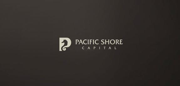 太平洋岸银行Logo设计-上海标志设计公司