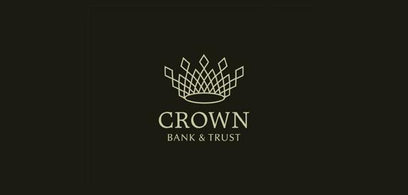 皇冠银行Logo设计-上海标志设计公司