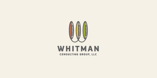 Nick Pagano为Whitmant银行设计的Logo-上海标志设计公司
