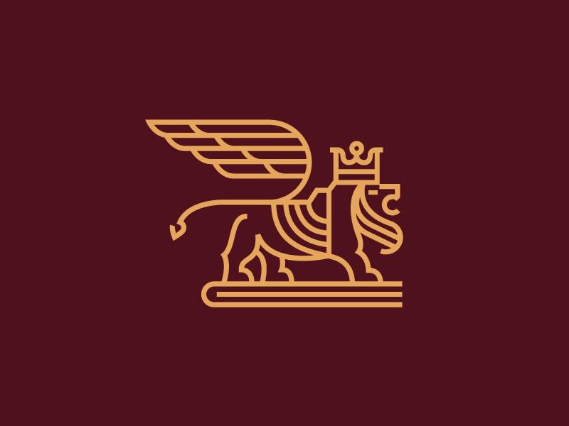 Mateusz Urba?czyk为Lion pt银行设计的Logo-上海标志设计公司