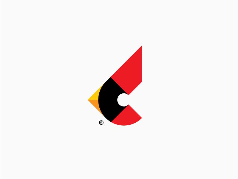 Alek为C as a Cardinal银行设计的Logo-上海标志设计公司