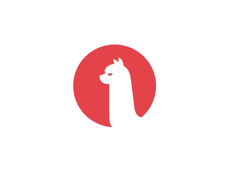 Jord Riekwel创作的羊驼银行标志-上海标志设计公司