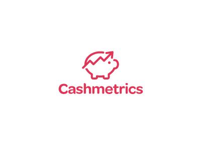 Jan Meeus创作的Cashmetrics银行 logo-上海标志设计公司