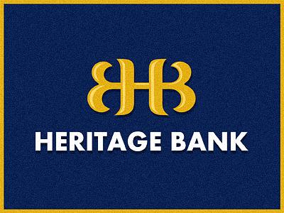 Mike Erickson为Heritage银行创作的银行Logo标志-上海标志设计公司