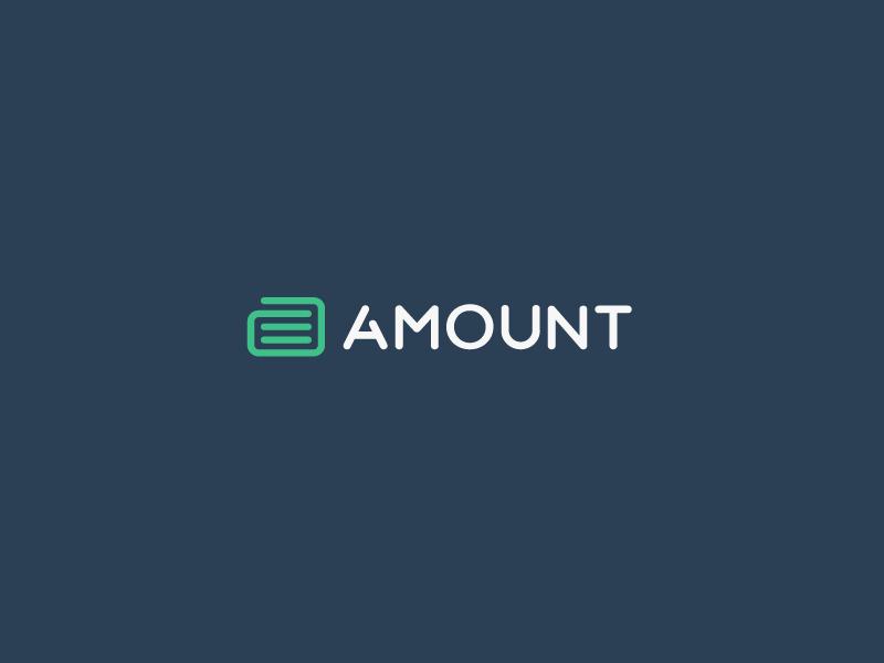 Jeroen van Eerden为Amount创作的银行Logo设计-上海标志设计公司