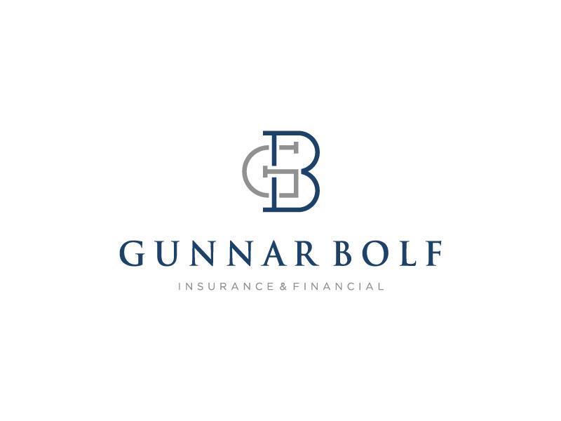 Mohamed Nasseh为Gunnar bolf银行做的标志与形象设计-上海标志设计公司