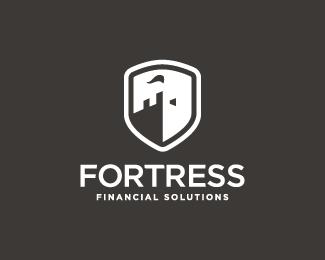 Herbyderby为Fortress Financial 2 创作的银行Logo-上海标志设计公司