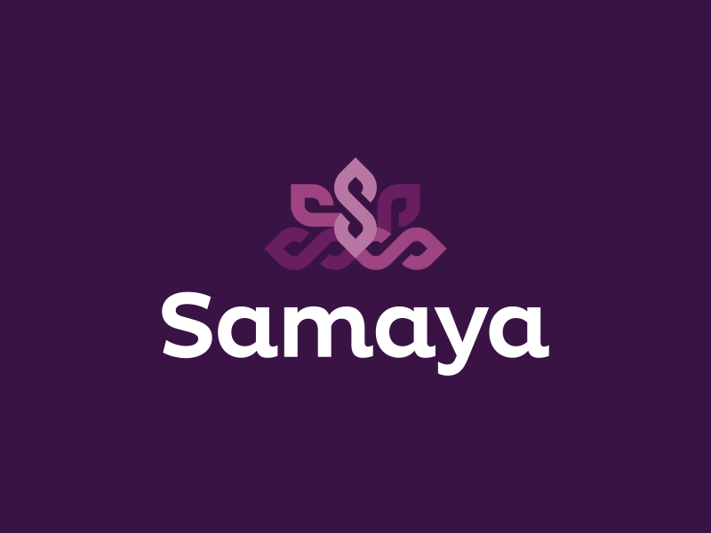 Dalius Stuoka为Samaya创作的银行Logo设计-上海标志设计公司