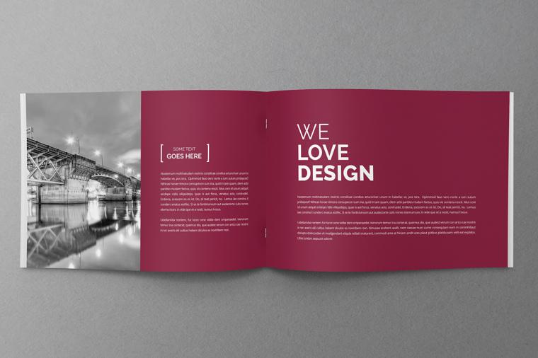 法鲁红企业专色企业宣传册设计-上海画册设计公司