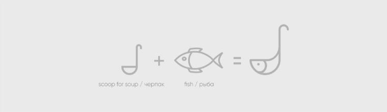 Chetverg - 鱼日餐厅鱼logo设计-上海餐饮品牌VI设计公司