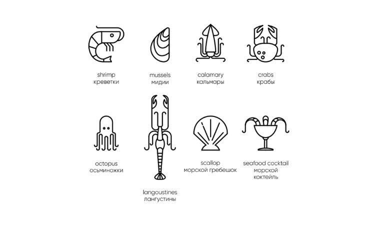 Chetverg - 鱼日餐厅鱼品牌VI形象设计-网站图标设计上海餐饮品牌VI设计公司