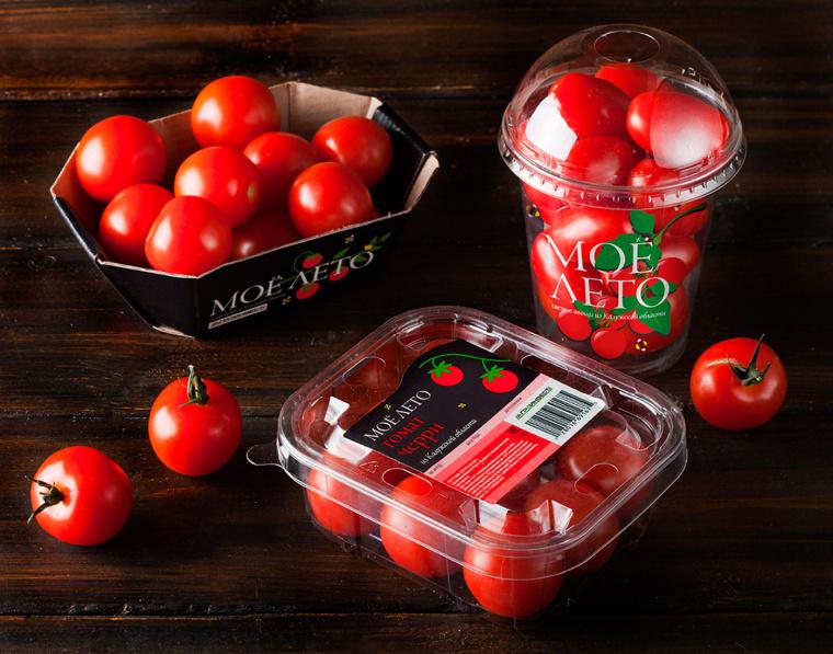 我的夏天品牌新鲜西红柿包装设计-上海农产品包装设计公司